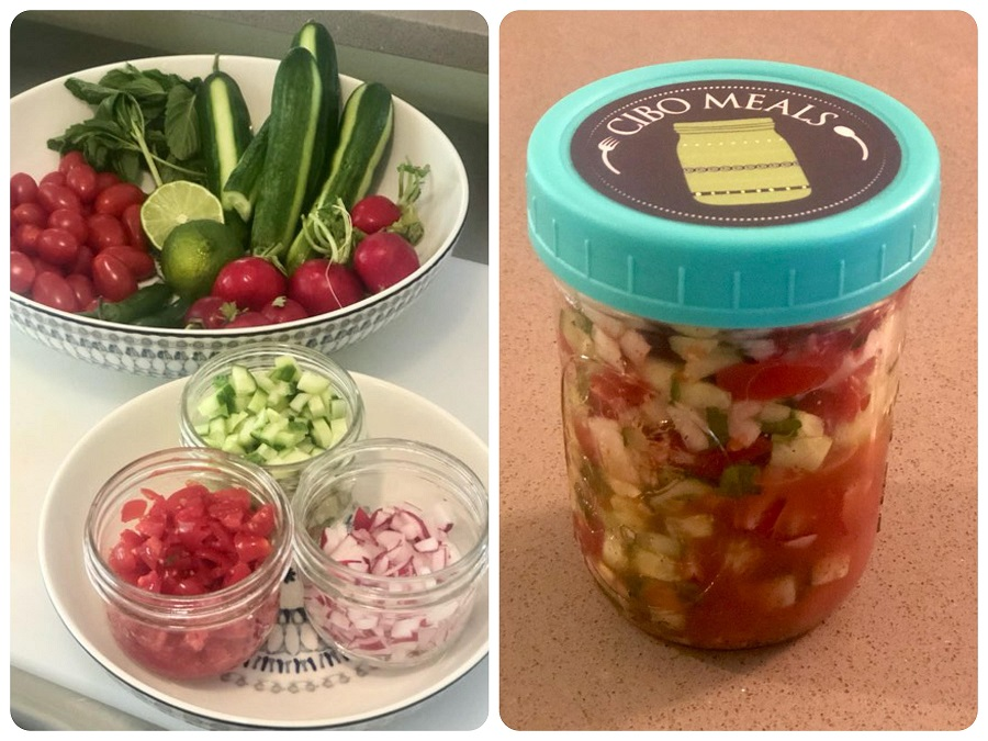 Cibo's Chop Chop Salad/Relish Recipe